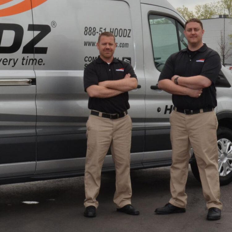HOODZ professionally trained service technicians