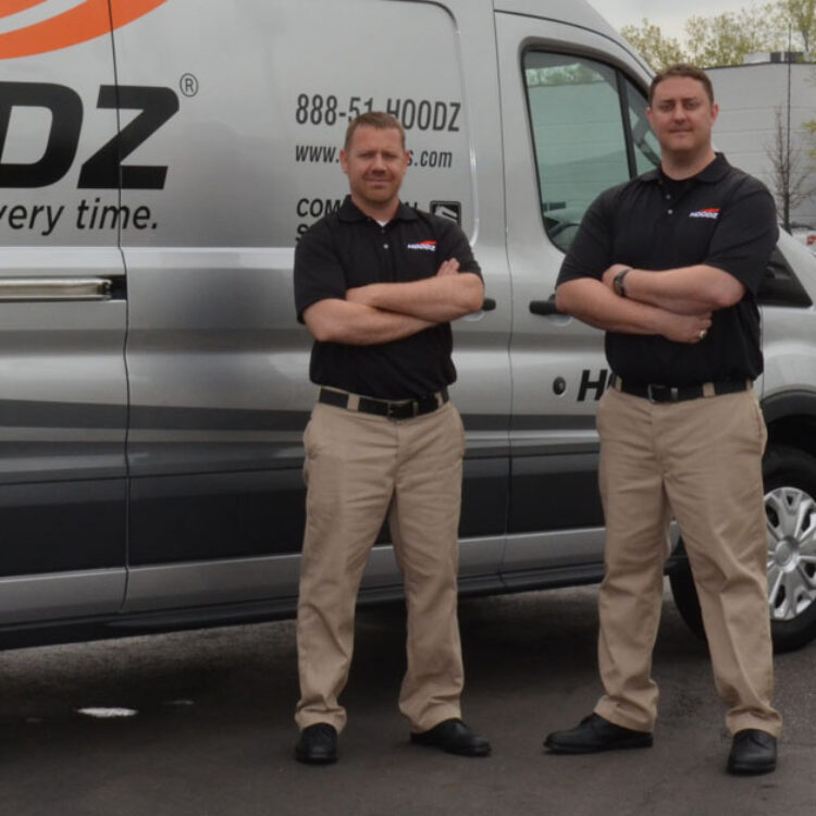 HOODZ professionally trained service technicians