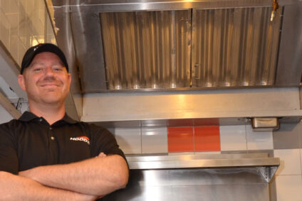 HOODZ technicians are professionally trained to clean commercial kitchen exhaust hoods