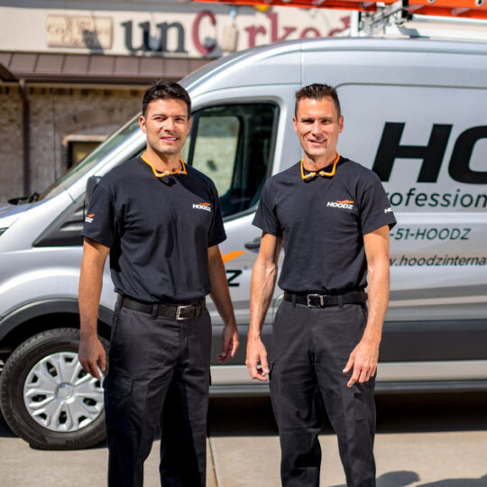 HOODZ service technicians are professionally trained and well qualified