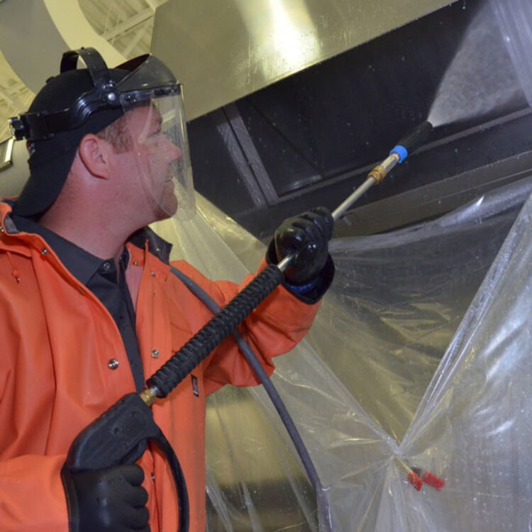 Commercial grease containment service