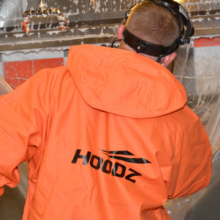 HOODZ service technicians are professionally trained to clean kitchen hoods