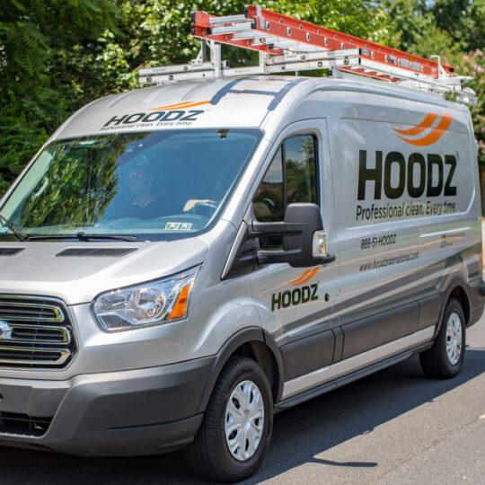 HOODZ service van